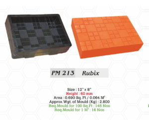 rubber stone molds
