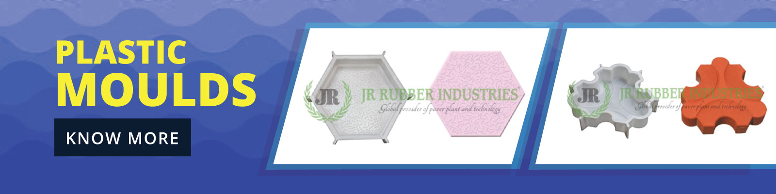 plastic moulds for interlocking tiles
