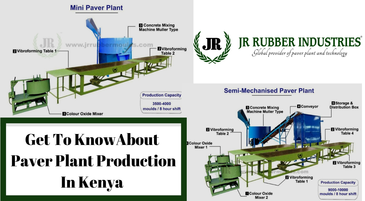 Get to know about paver plant production in Kenya