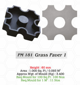 grass pavers mould in malaysia