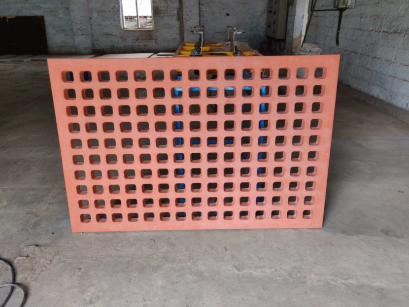 rubber mould for compound walls