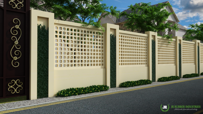 Boundary wall mould